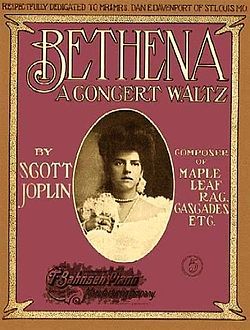 Bethena Rag Waltz by Scott Joplin