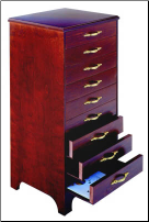 SHEET MUSIC CABINET - EBONY HIGH GLOSS