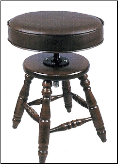 JANSEN Upholstered Top Stool