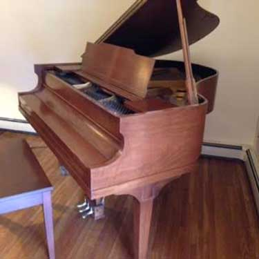 Pease Grand Piano made in 1936