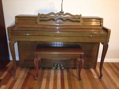 The Wurlitzer Piano Co. Made Over One Million Spinets - For Sale Near Nashville, TN